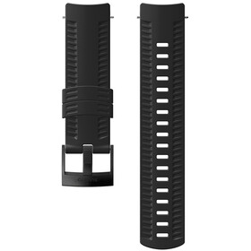 Suunto Athletic 2 Silicone Strap, black/black